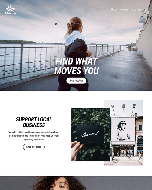 Shopify Store Example Elevate Digital