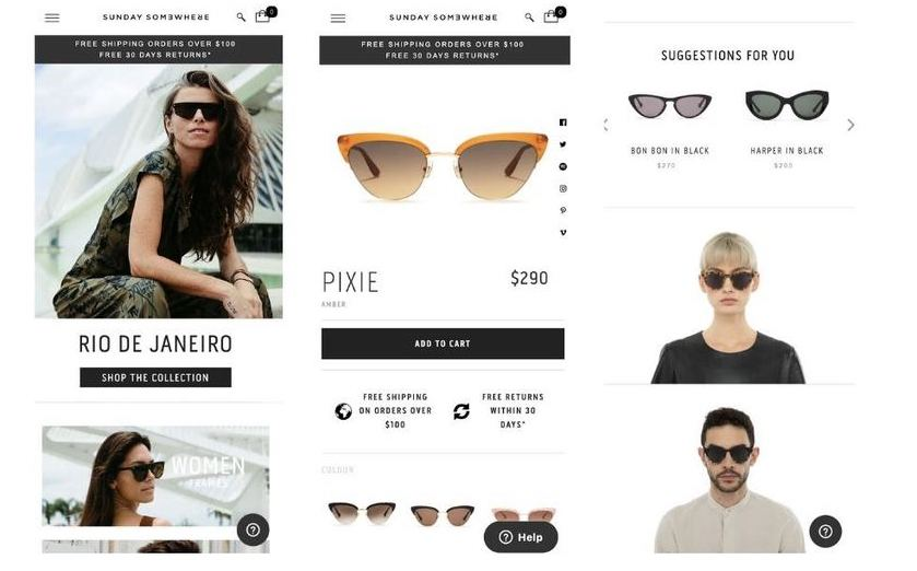 Shopify Plus Store Example Elevate Digital